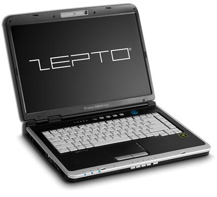 El portátil Zepto Znote 6625WD cuenta con DX10, HSDPA y HD DVD