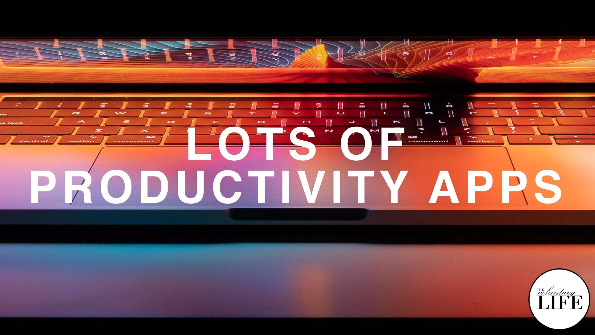 Bonus Episode 87: Lots Of Productivity Apps
