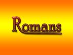 Bible Institute: Romans - Class #9