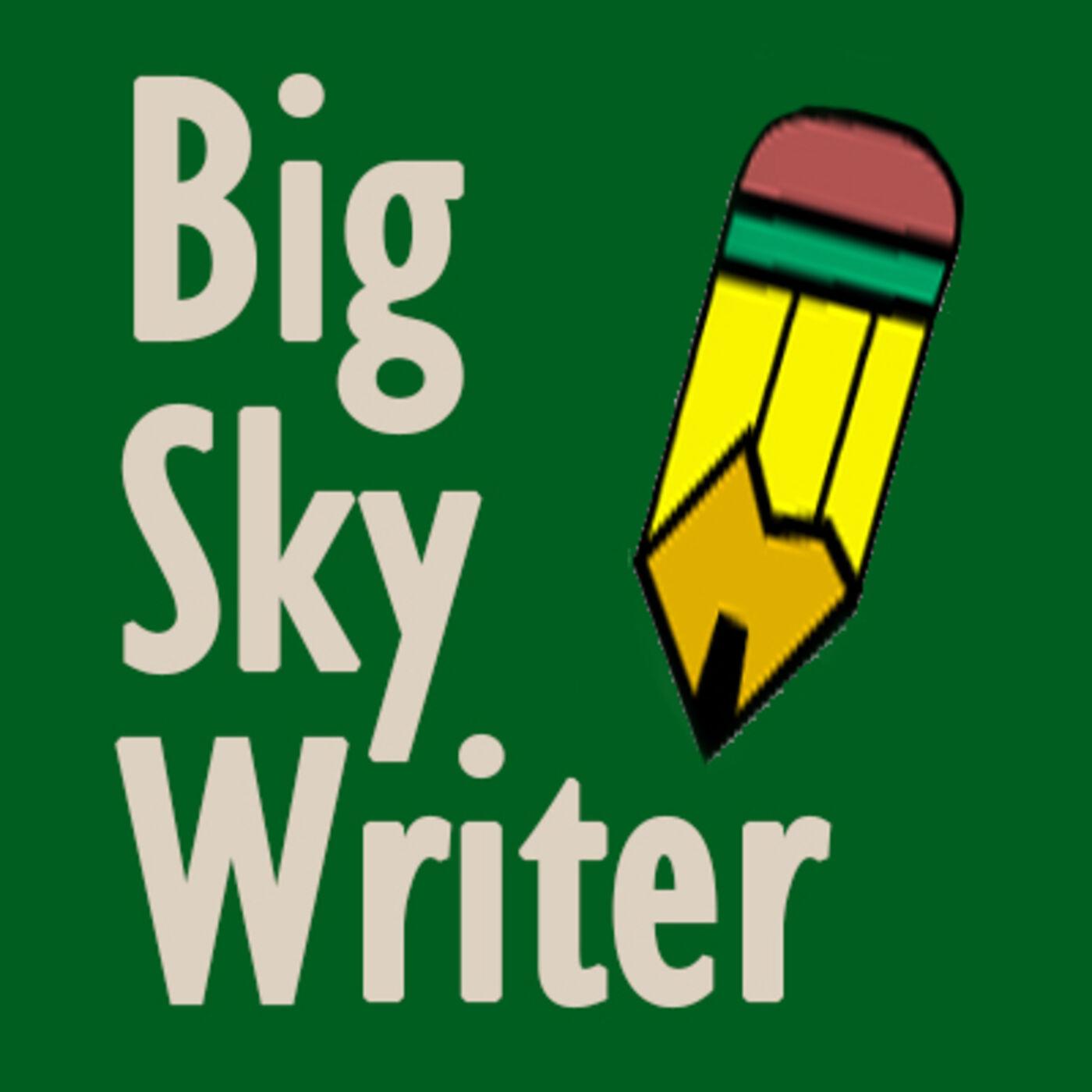 Big Sky Writer show art