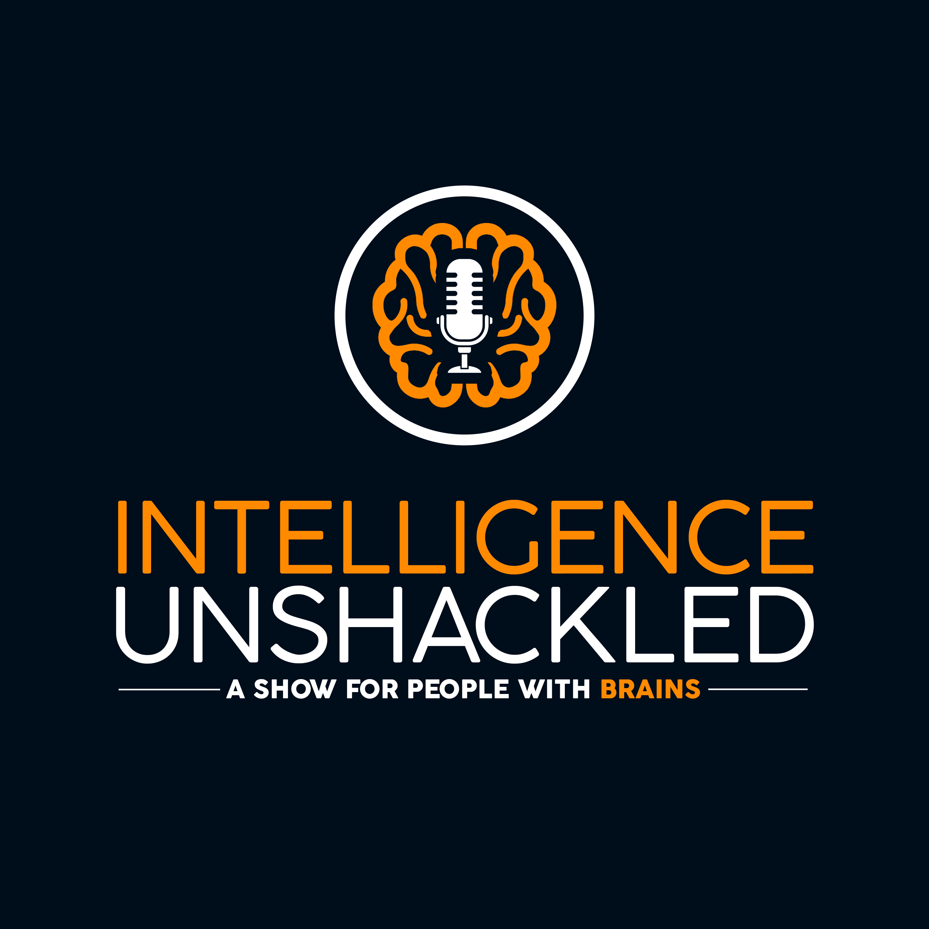 Intelligence Unshackled: a show for people with brains (a Brainjo Production) show art