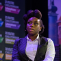 Artwork for Chimamanda Ngozi Adichie at The Times and The Sunday Times Cheltenham Literature Festival 2018