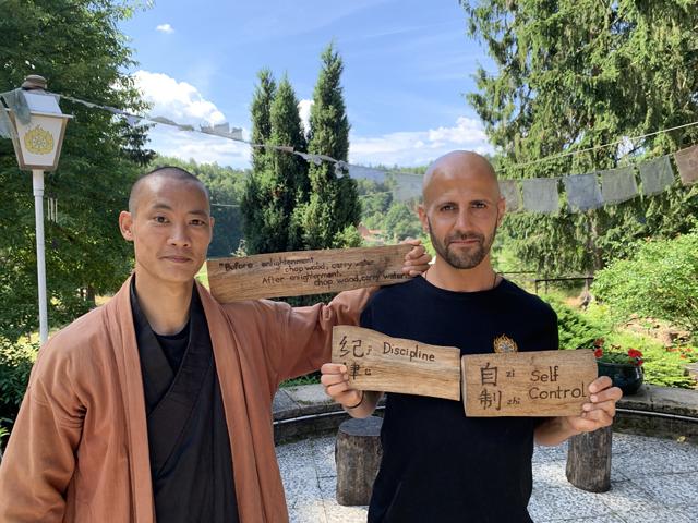 shi heng yi shaolin master interview