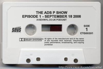 The Ads P Show  - Episode One