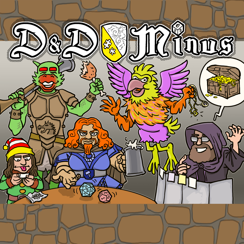 D&D Minus show art