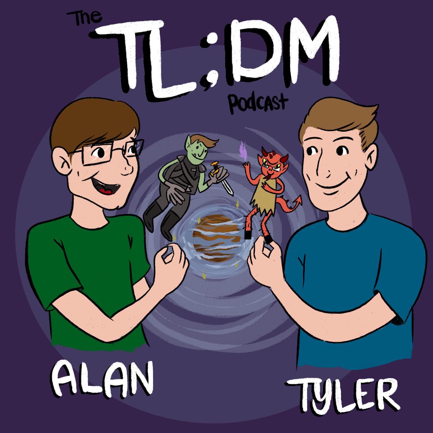 tl;dm - A D&D DM Podcast show art