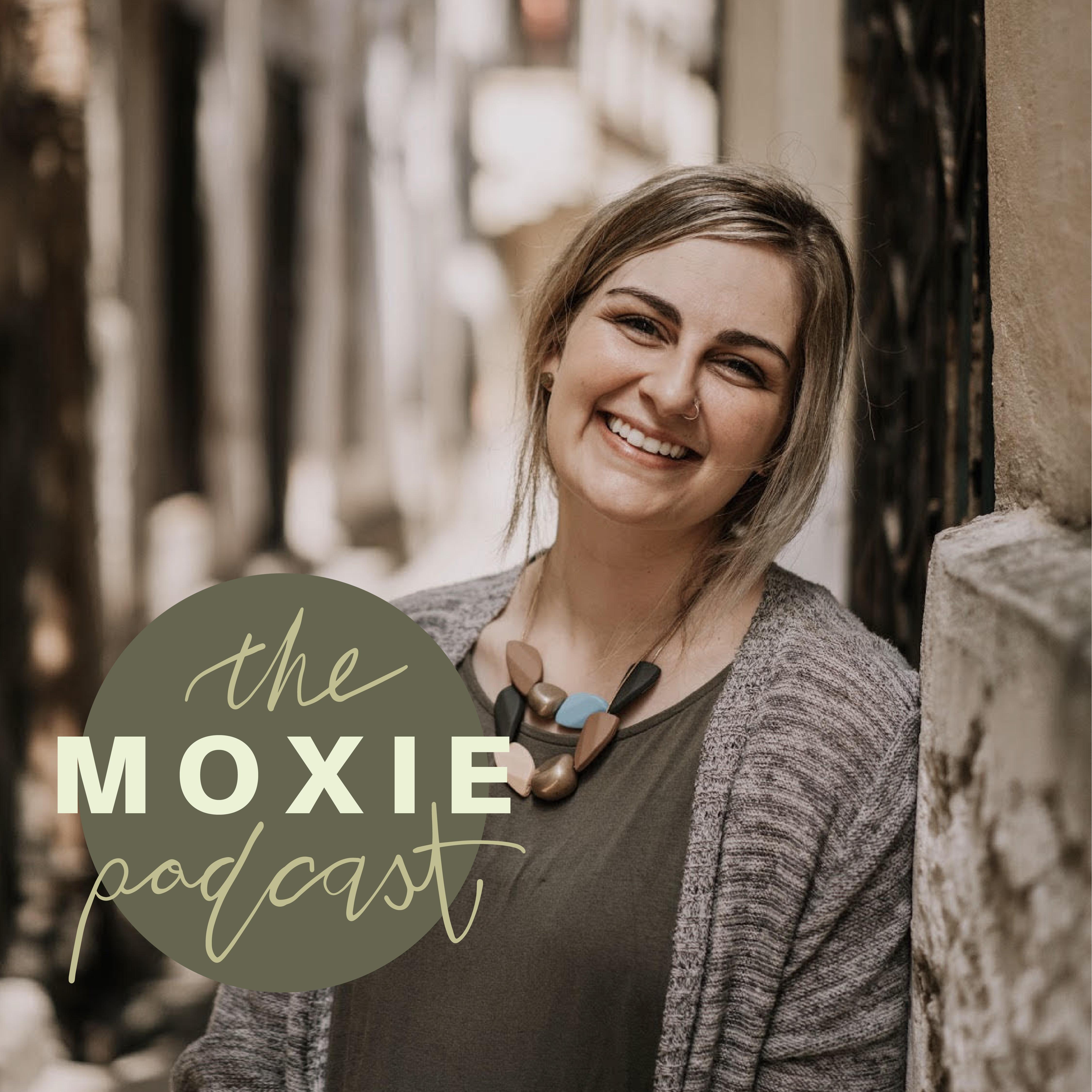 The Moxie Podcast show art