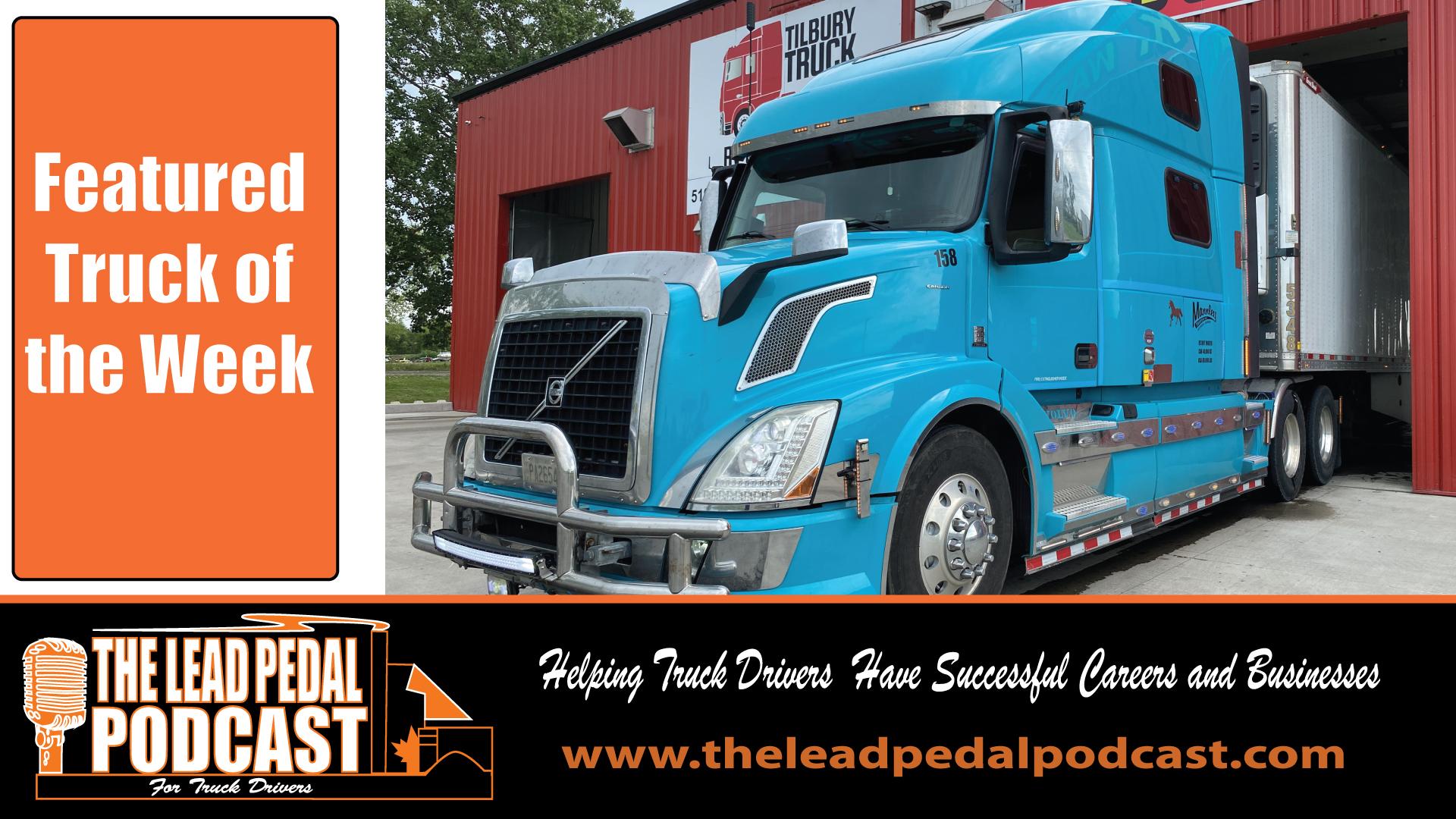 LP685 Featured Truck of the Week - Custom Blue Volvo
