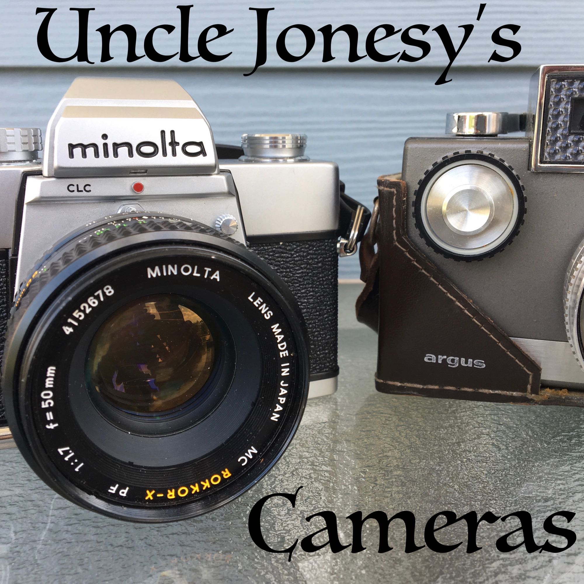 Uncle Jonesy's Cameras show art