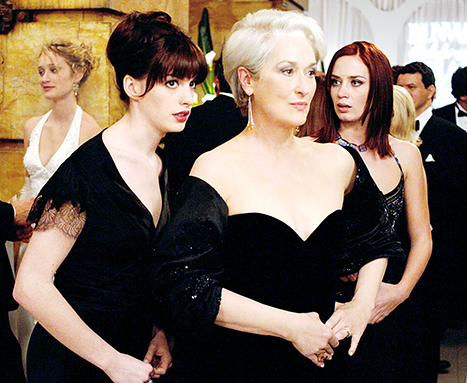 The Devil Wears Prada--book vs movie