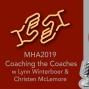 Artwork for MHA 2019: Coaching the Coaches