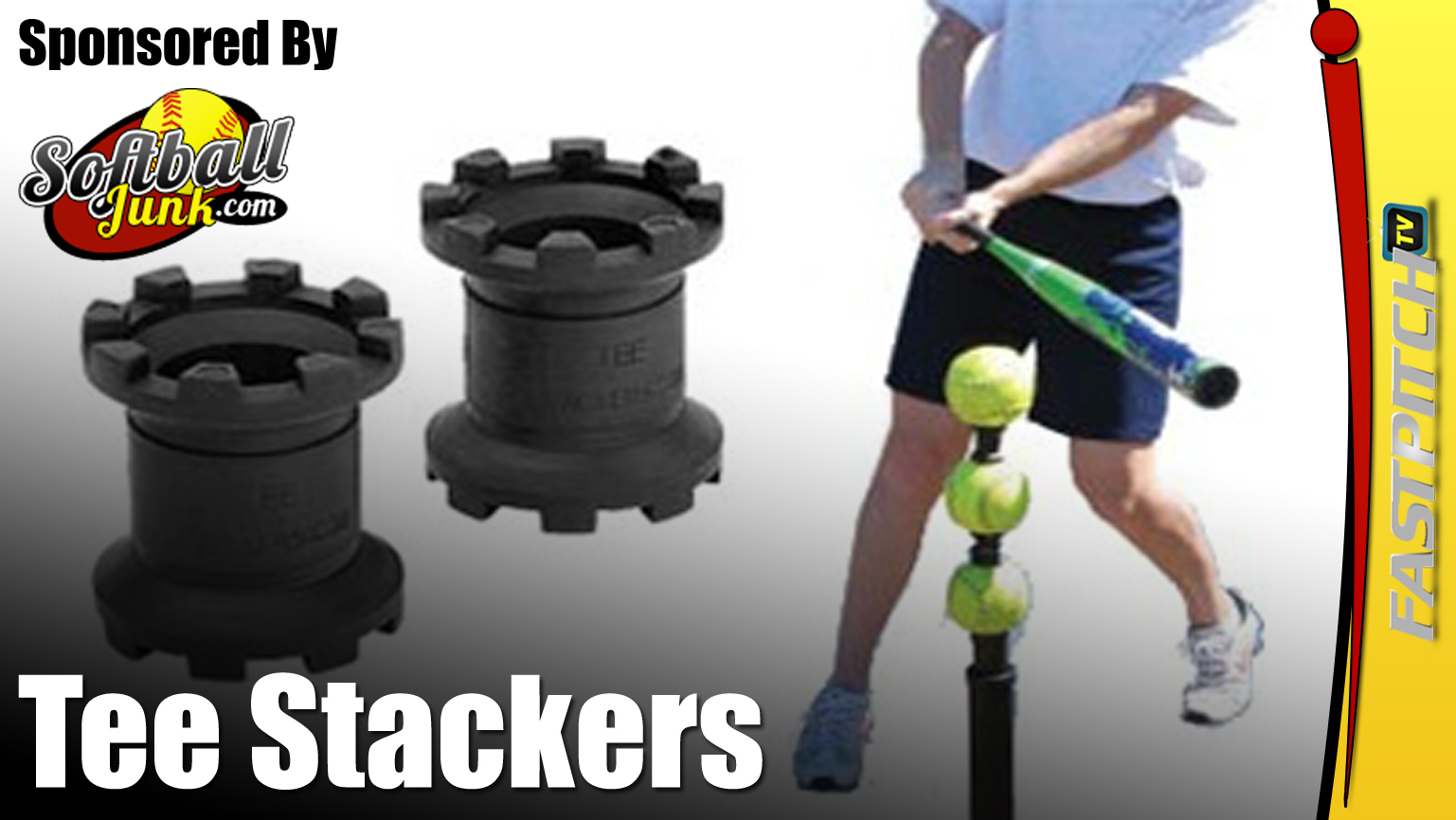 Tee Stackers Are Great For Batting Tee Work $14.95