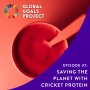 Artwork for Saving the Planet with Cricket Protein [Episode 37]
