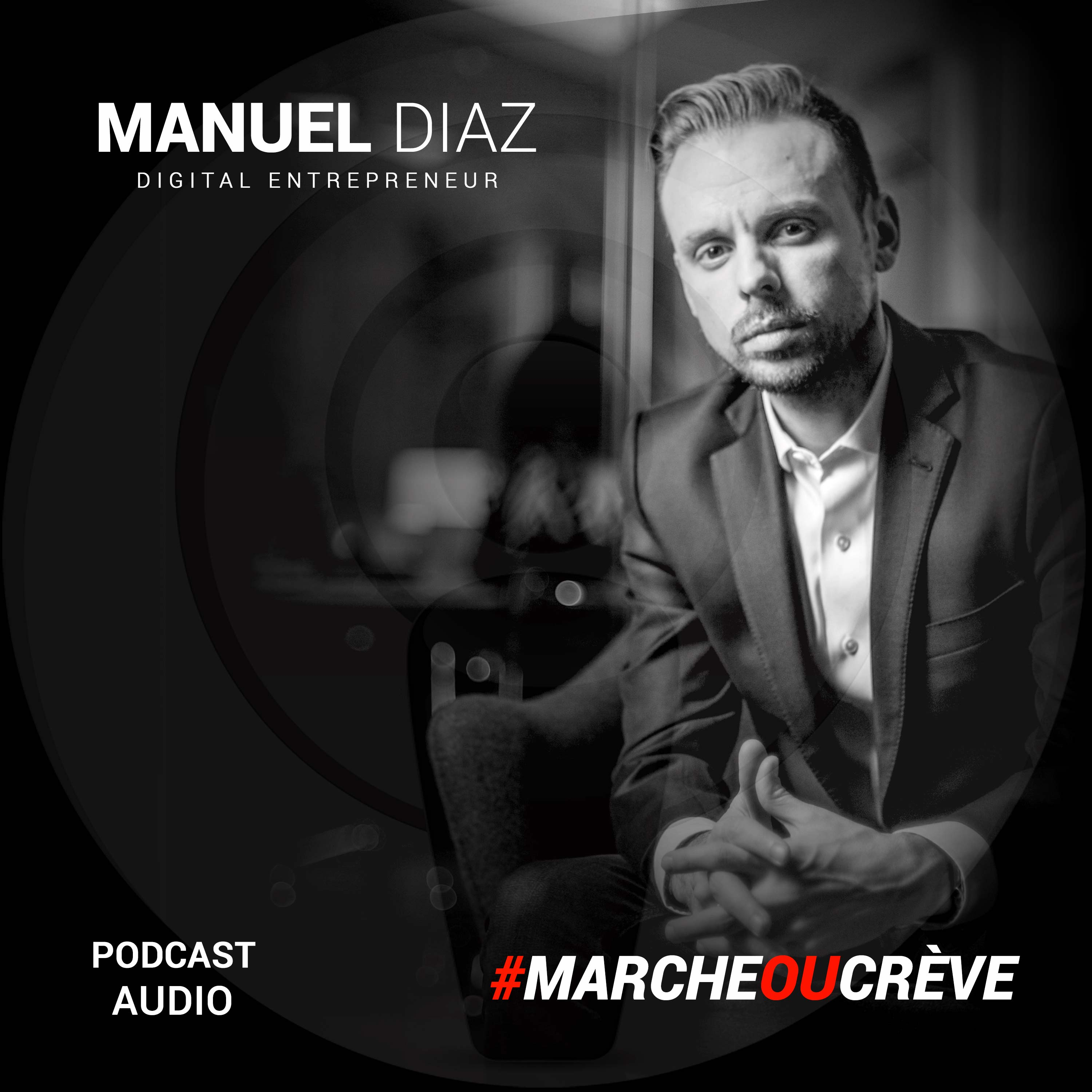 Manuel Diaz Podcast show art