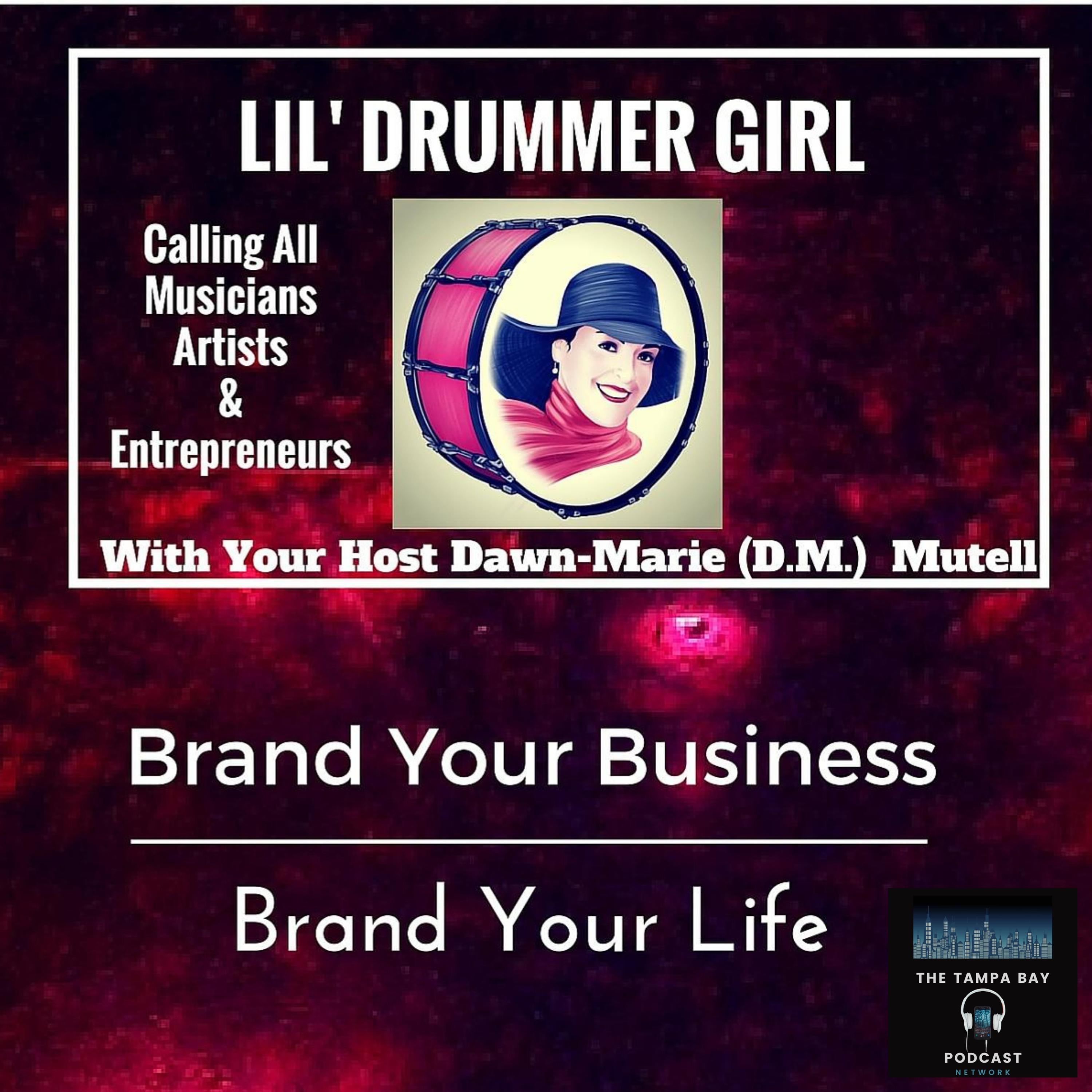 The Lil' Drummer Girl Podcast show art