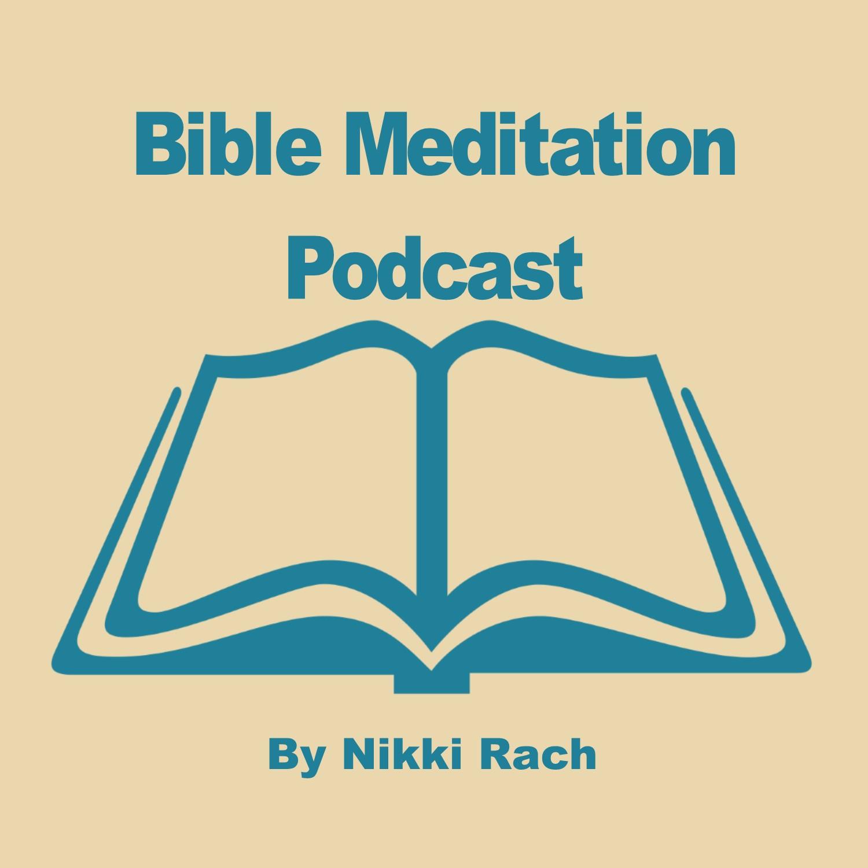 Bible Meditation Podcast show art
