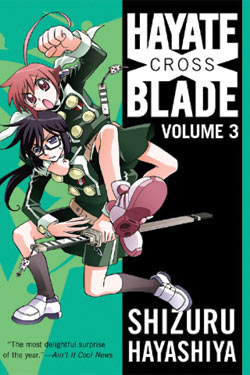 Manga Review: Hayate Cross Blade Volume 3