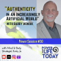 "Artwork for Power Session #50: ""Authenticity in an Increasingly Artificial World"" with Barry Moniak"