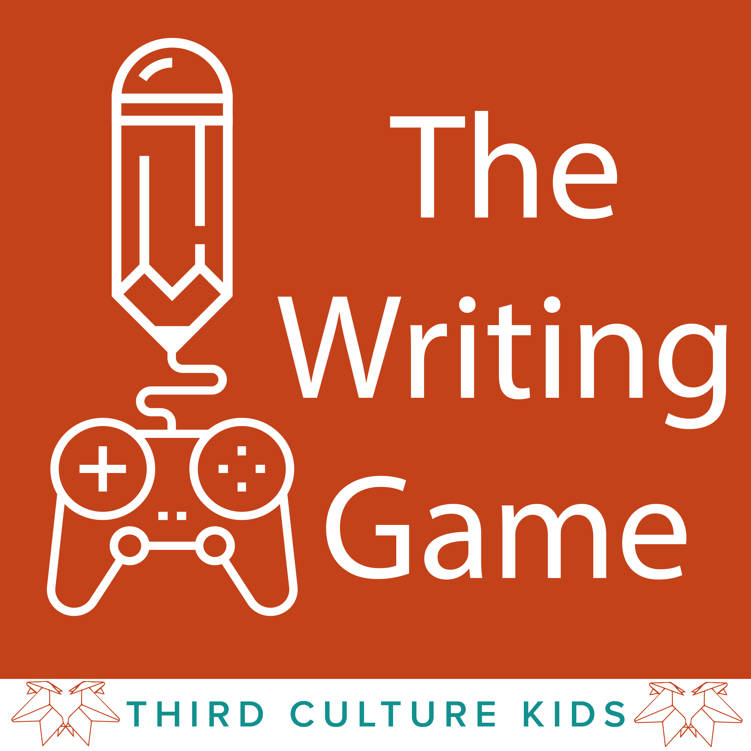 The Writing Game show art