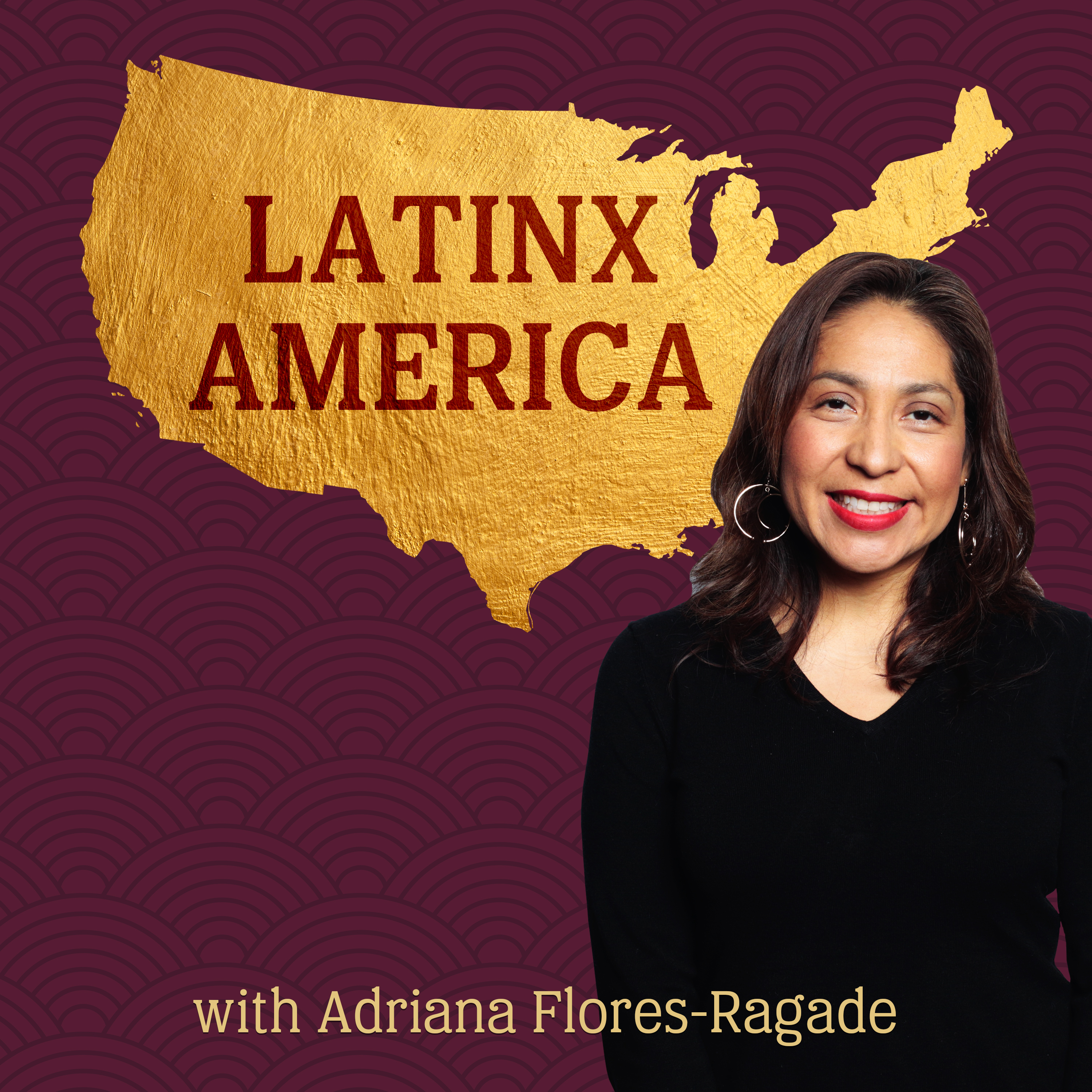 LatinxAmerica's podcast show art