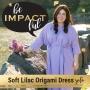 Artwork for Soft Lilac Origami Dress- Special Solo Episode!