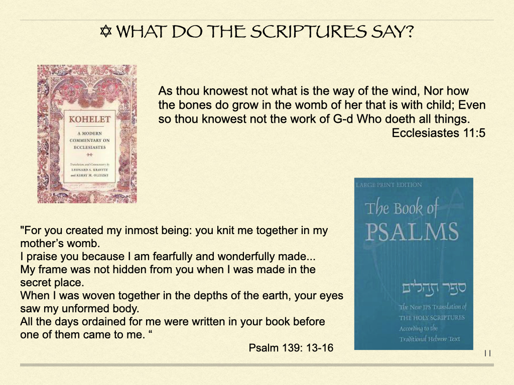 What Do The Scriptures Say?