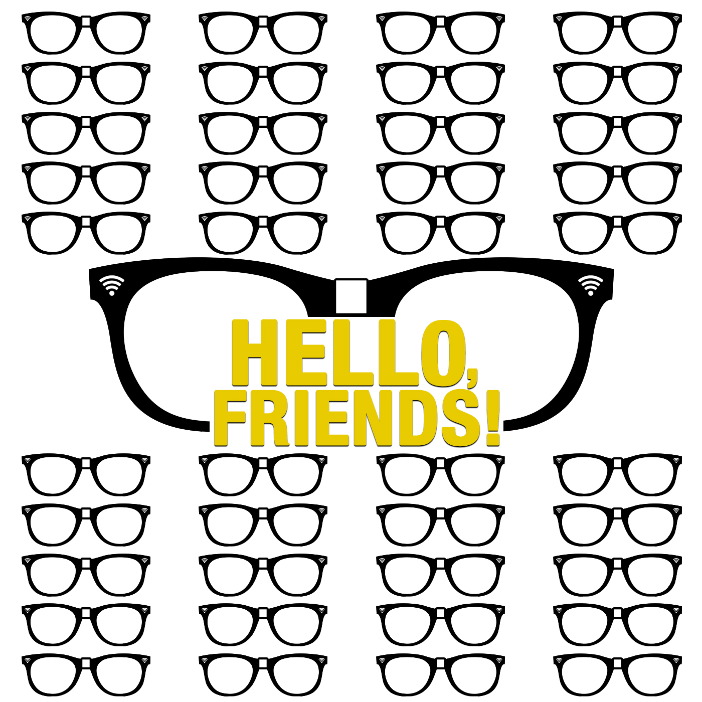 Hello, Friends! show art