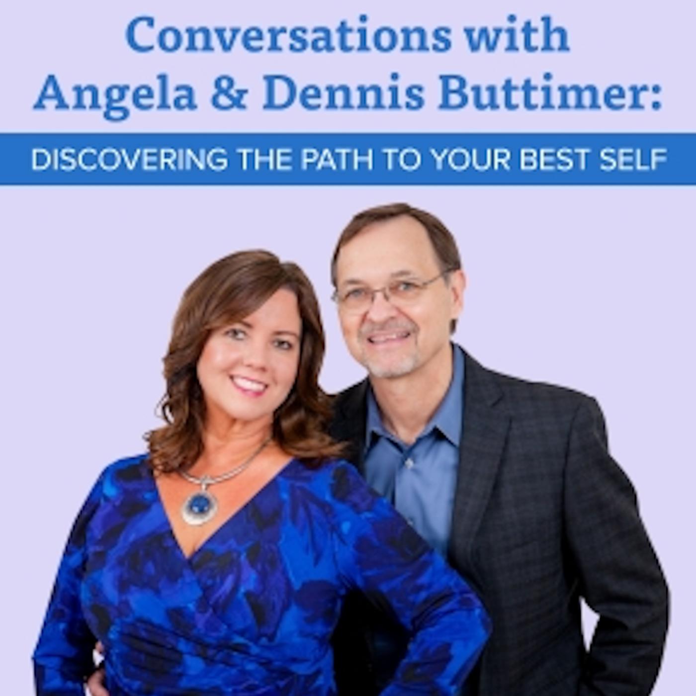 Conversations with Angela Buttimer and Dennis Buttimer show art