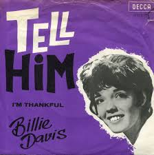 Billie Davis - Tell Him - Time Warp Song of the Day 10/27