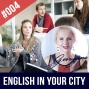 Artwork for #004 Practice your Spoken English in your city