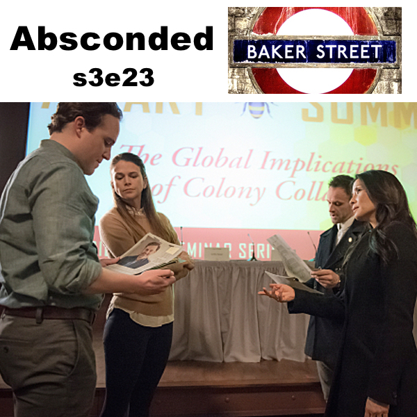 s3e23 Absconded - Baker Street: The Elementary Podcast