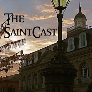 SaintCast #94, More from Saintly New Orleans, Saintsforsinners studio, St. Fink, Louis Prima's grave, feedback +1.312.235.2278