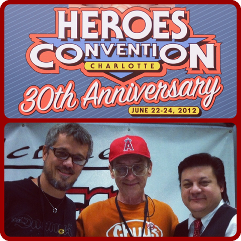 Episode 414 - Heroes Con Panel w/ Steve Niles and Bernie Wrightson!