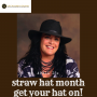 Artwork for LNNL EP#032 April is National #Straw Hat Month - So Get Your Hat On!