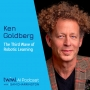 Artwork for The Third Wave of Robotic Learning with Ken Goldberg - #359
