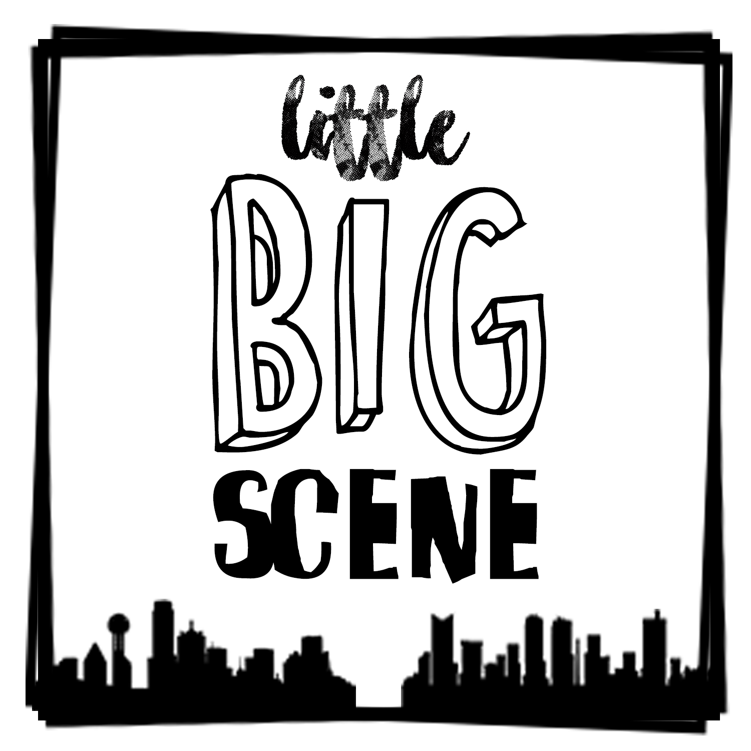 Little Big Scene Podcast show art
