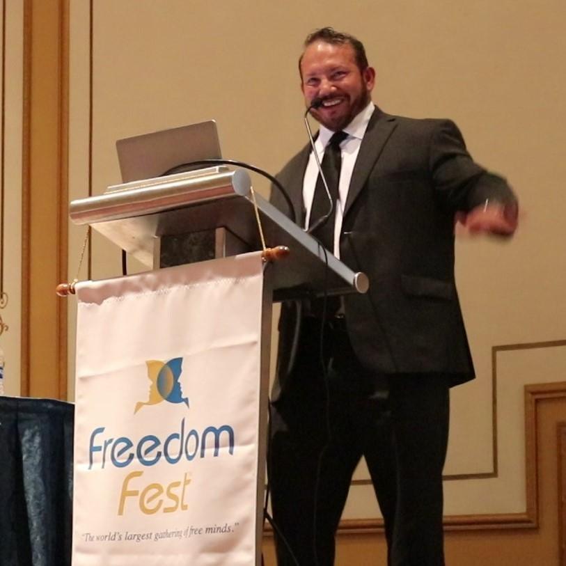 Artwork for Join the Renaissance Man in Vegas for FreedomFest