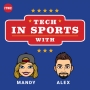 Artwork for Cybersecurity implications of Bryan Colangelo's burner Twitter accounts - Tech in Sports Ep. 47