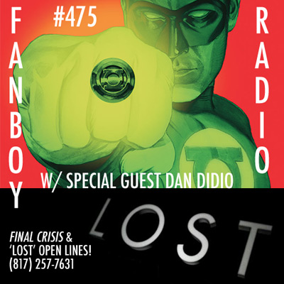 Fanboy Radio #475 - Final Crisis & LOST Open Lines!