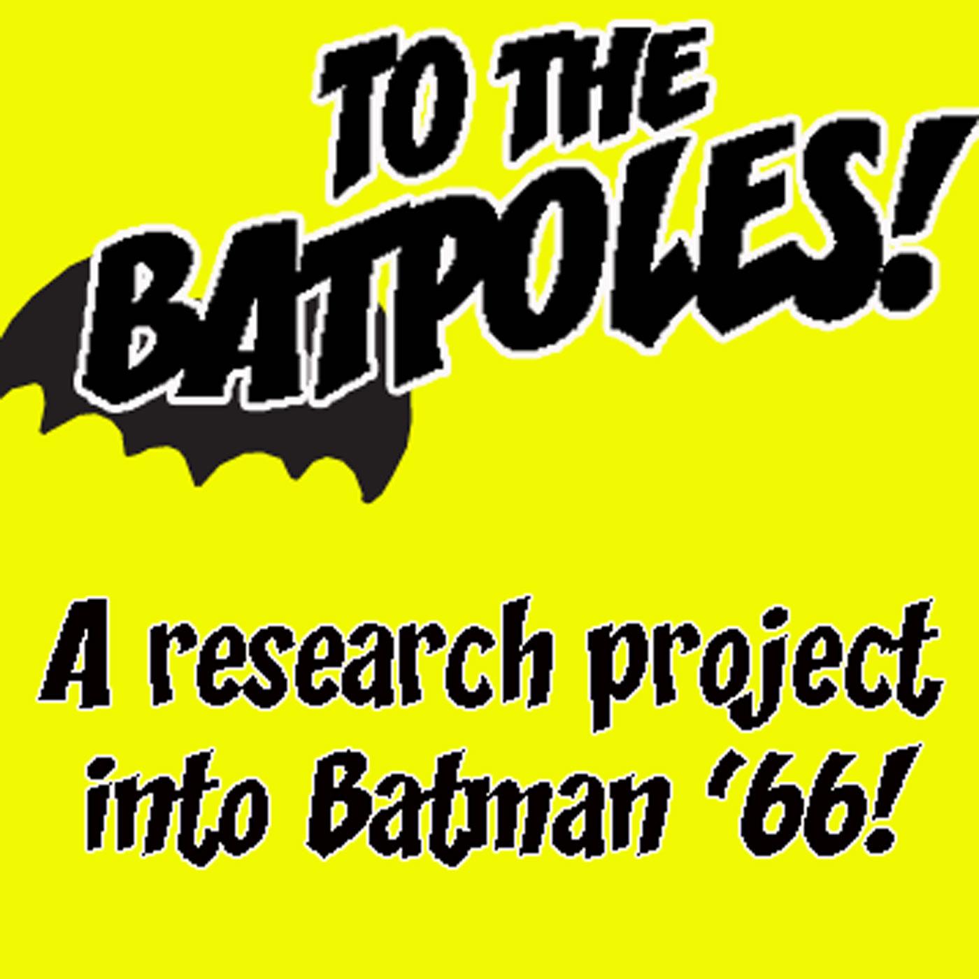 To The Batpoles! Batman 1966 show art
