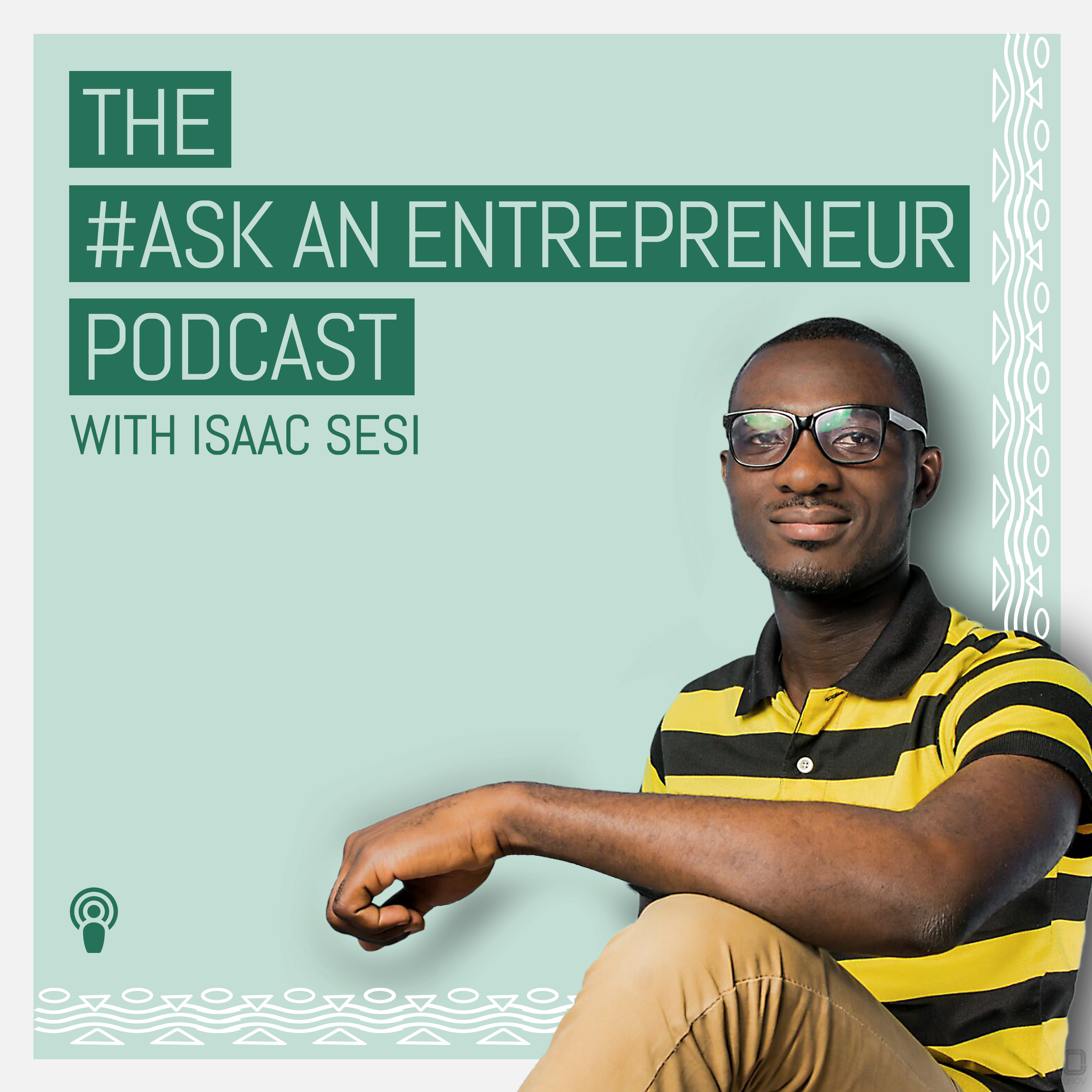 The African Entrepreneur Podcast show art