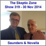 Artwork for The Skeptic Zone #319 - 30.Nov.2014