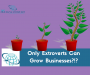 Artwork for Only Extroverts Can Grow Businesses?!?!