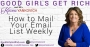 Artwork for [Good Girls Get Rich Episode 050] How to create a simple email marketing process
