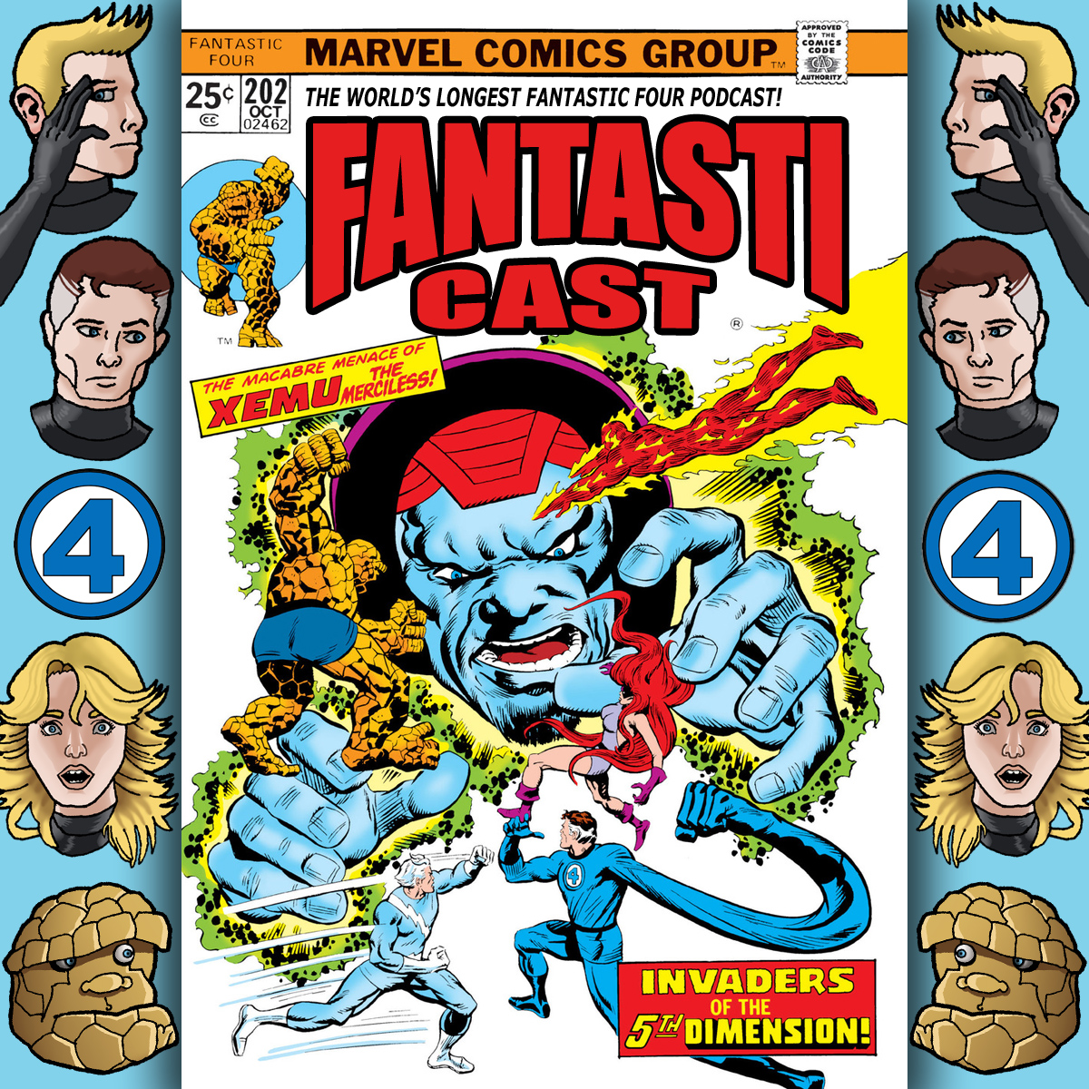 Episode 202: Fantastic Four #158 - Invasion From The 5th (Count It, 5th) Dimension
