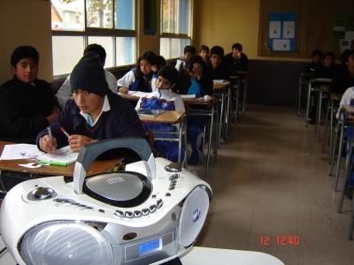 167 ChileVideoCast en el Liceo Juan Pablo II