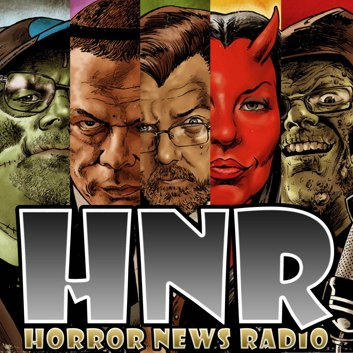Gruesome Magazine Network | Horror News Radio | Decades of Horror Podcast show art