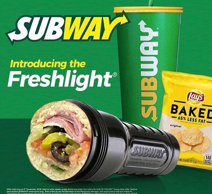 subway fleshlight