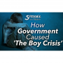 """Artwork for Stossel: How Government Caused 'The Boy Crisis', Free-Market Social Security, The End of Tipping?, Plastic Straw Myths, Jordan Peterson vs. """"Social Justice Warriors"""" and Funny Satirical Songs from Remy. Show 3150."""