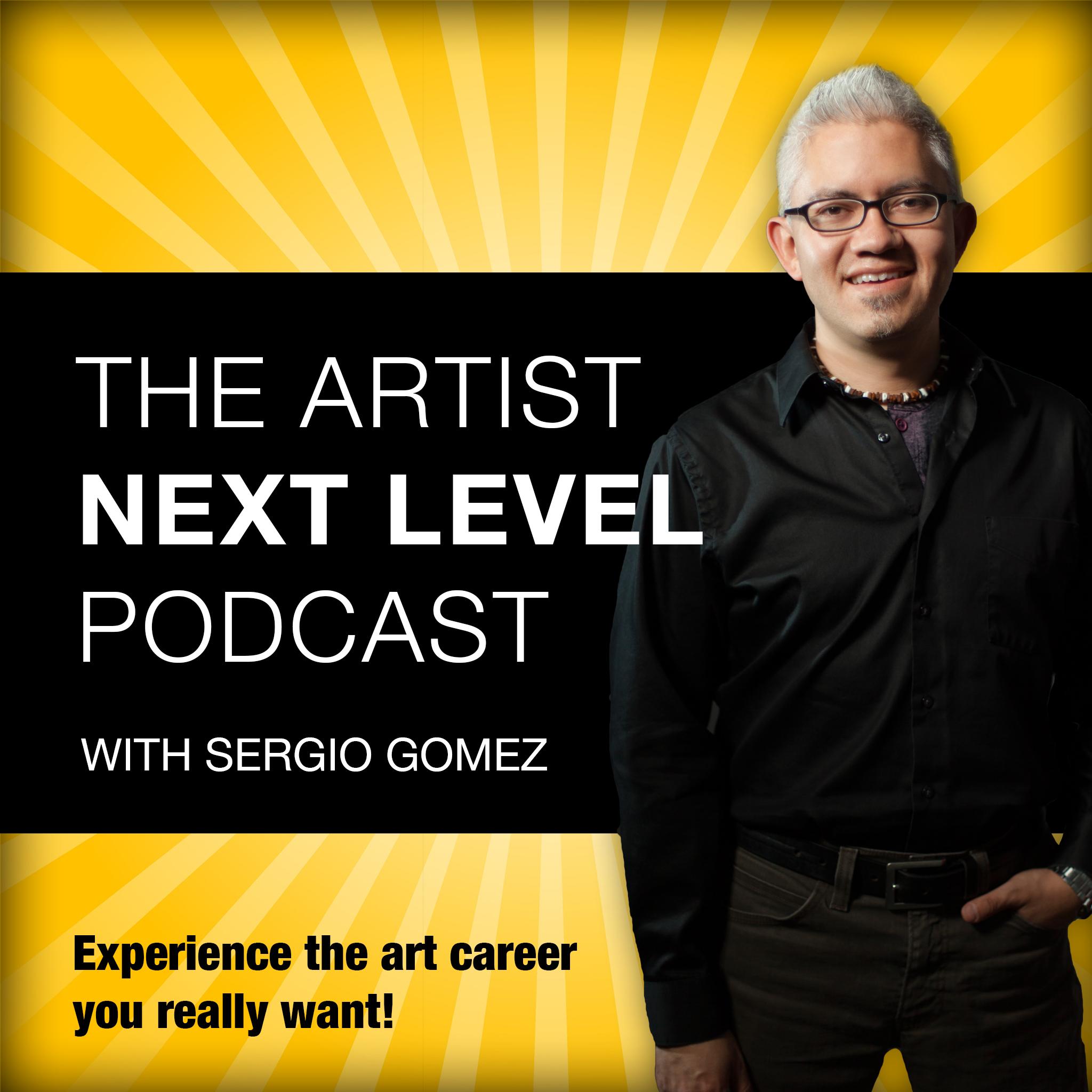 The Artist Next Level with Sergio Gomez  show art